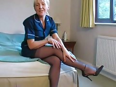 British women in pantyhose