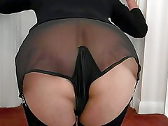 Amateur, British, Pantyhose, Stockings, Vintage