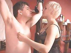 BDSM, Blonde, CFNM, Femdom, Strapon