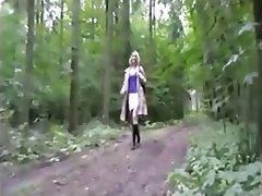 Blonde, Blowjob, Cumshot, German, Stockings