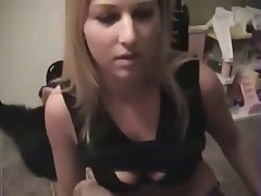 Amateur, Blowjob, Cumshot, Foot Fetish