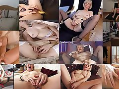 Masturbation, Mature, MILF, Orgasm