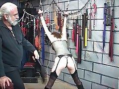 BDSM, Brunette, Lingerie, Pantyhose