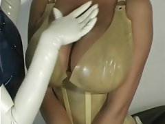 Babe, Big Boobs, Latex, Lesbian, Pornstar