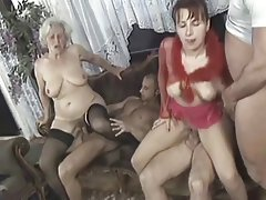 Orgy sex mature group