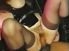 Anal, Brunette, Italian, MILF, Stockings