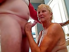 Grandpa and granny cum your