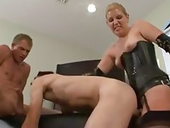 Anal, Bisexual, Blowjob, Strapon, Threesome
