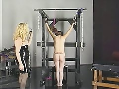 BDSM, Blonde, Brunette, Latex