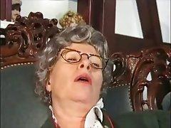 Amateur, Close Up, German, Granny