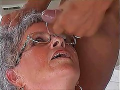 Big Boobs, Blowjob, Granny