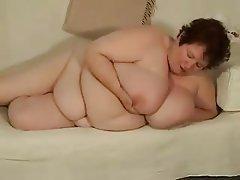 BBW, Big Boobs, Masturbation, Mature