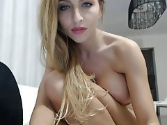 Big Boobs, Blonde, Masturbation, MILF, Webcam