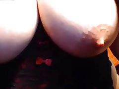 Big Boobs, Lingerie, Masturbation, Nipples, Squirt