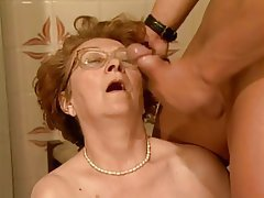 BBW, Big Boobs, Blowjob, Granny, Old and Young