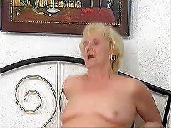 Blowjob, Granny, Small Tits
