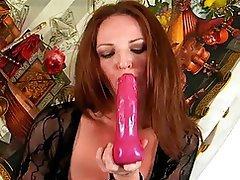 Masturbation, Mature, MILF, Redhead