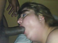 porn interracial mature blowjob