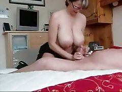 Big Boobs, Handjob, Mature, Old and Young