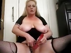 BBW, Big Boobs, Blonde, Masturbation
