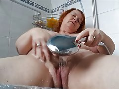 Amateur, BBW, British, Mature, Shower