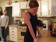 Blowjob, Granny, Old and Young, Small Tits