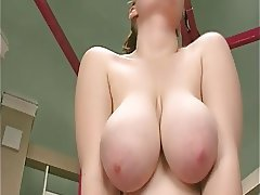 Big Boobs, Close Up, Hairy, Masturbation, Redhead