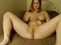 BBW, Big Boobs, Close Up, Masturbation, Webcam