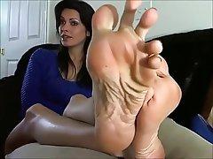 Brunette, Foot Fetish