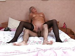 Amateur, Mature, MILF, Russian, Stockings