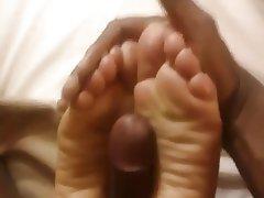 Amateur, Foot Fetish, Interracial