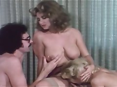 Cunnilingus, Group Sex, Hairy, Stockings, Vintage