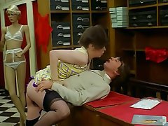 French, Group Sex, Hairy, Stockings, Vintage