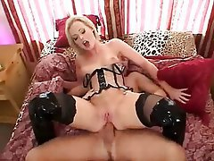 Anal, Double Penetration, Hardcore, Stockings, Threesome