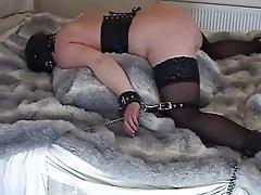 Granny bondage amateur