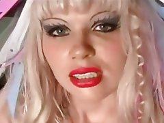 BDSM, Blonde, Femdom, Latex