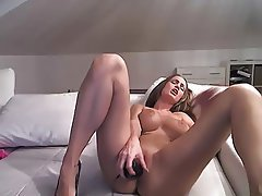 Amateur, Big Boobs, Masturbation, Orgasm, Webcam
