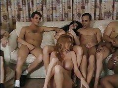 Big Boobs, Group Sex, Celebrity, Interracial