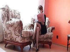 Big Butts, Brunette, Mature, Stockings