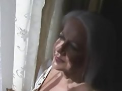 Amateur, Big Boobs, Granny, Masturbation, Stockings