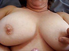 Big Boobs, Cumshot, Granny, Mature