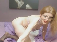 Granny, Mature, Webcam