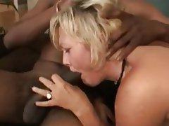 Anal, Blowjob, Interracial, MILF, Threesome