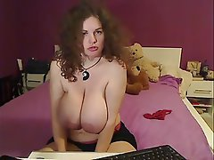 Big Boobs, MILF, Redhead, Webcam