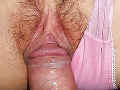 Close Up, Creampie, Japanese, Masturbation, Orgasm