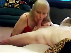 Blonde, Blowjob, Mature, Old and Young