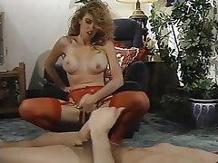 Hairy, Lingerie, Masturbation, Stockings, Vintage