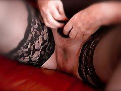 BBW, Stockings, Mature