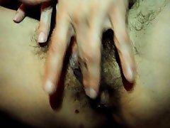 Close Up, Hairy, Masturbation, MILF