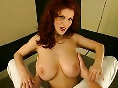 Big Boobs, German, Nipples, Redhead